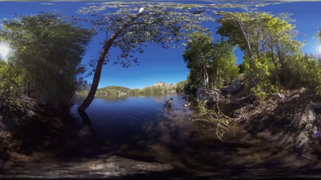 A scenic lake in Bells Canyon Utah