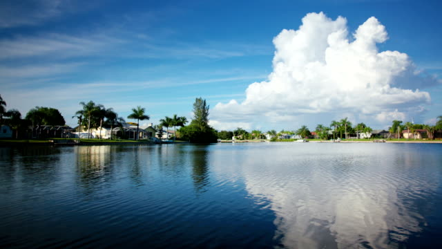 scenic landscape. time lapse - cape coral stock videos & royalty-free footage