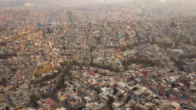 Scenic Mexico City, aerial view