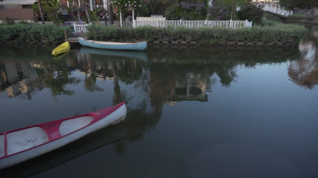 scenic river in california - venice california stock videos & royalty-free footage