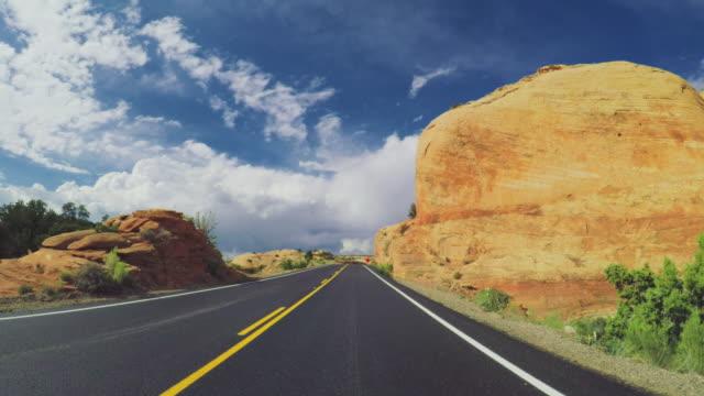 hw 12 風光明媚な道路グランドステアケースエスカランテ - グランドステアケースエスカランテ国定公園点の映像素材/bロール