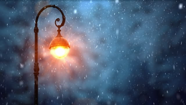 scenic street lamp with night sky - fantasy stock videos & royalty-free footage