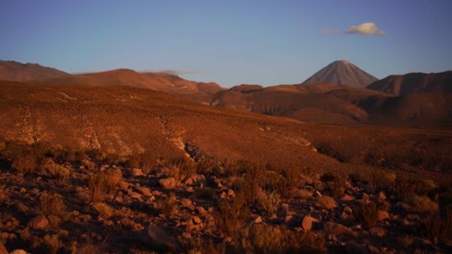 scenic view of atacama desert in chile - san pedro de atacama stock videos & royalty-free footage