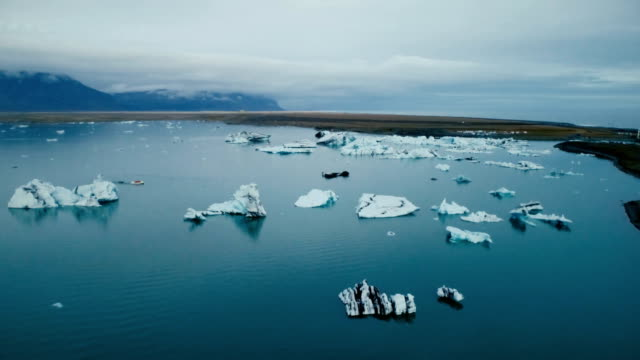 Scenic view of Jokulsarlon lagoon  in Iceland