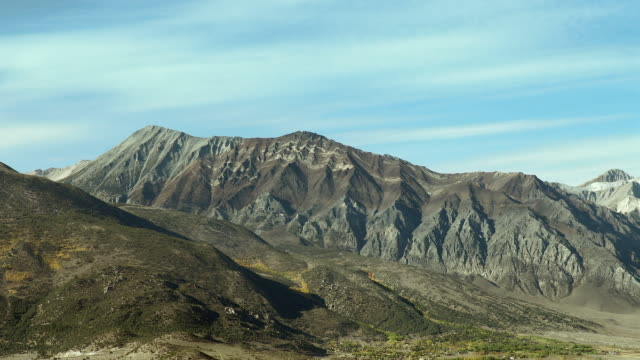 scenic view of mount morgan in mono county, california - national forest stock videos and b-roll footage