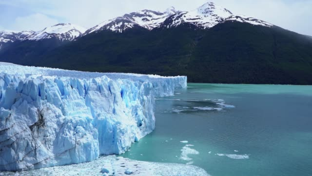 scenic view of perito moreno glacier in patagonia - ice stock videos & royalty-free footage