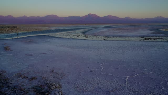 scenic view of salar de atacama in desert in chile - san pedro de atacama stock videos & royalty-free footage