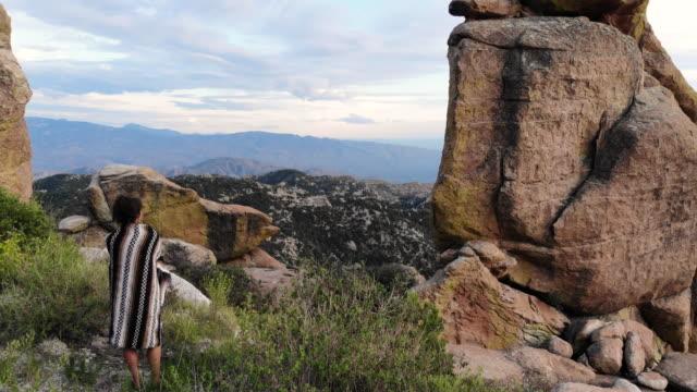 scenic view - rock hoodoo stock videos & royalty-free footage