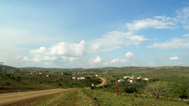 vídeos y material grabado en eventos de stock de scenic views of rural area, kwazulu natal, south africa - kwazulu natal
