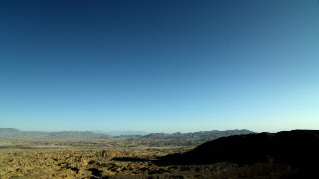 scenic wide shot in anza-borrego park - southern california stock videos and b-roll footage