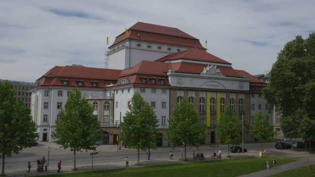 Schauspielhaus in Dresden, Saxony, Germany