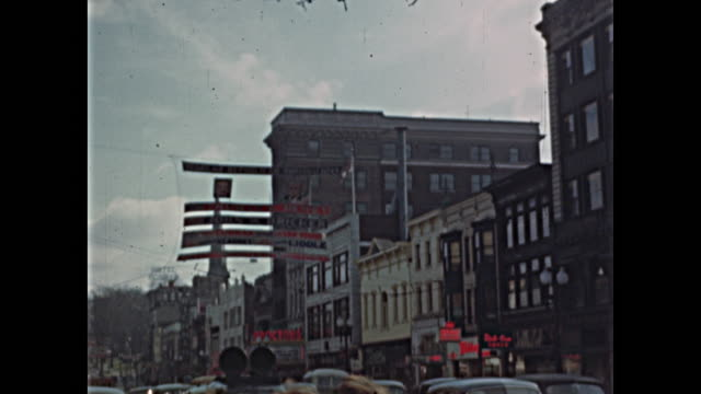 1944 schenectady ny, just before presidential election - election stock videos & royalty-free footage