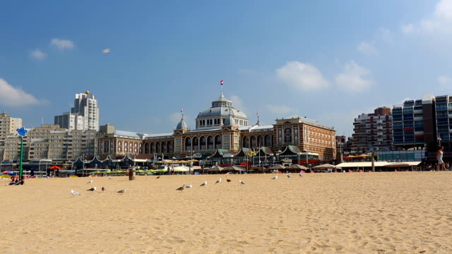 scheveningen in netherlands - the hague stock videos and b-roll footage
