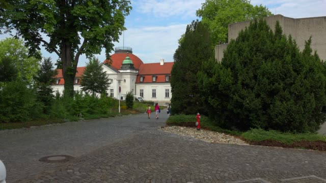 Schiller National Museum and Deutsches Literaturarchiv at Schillerhoehe Height, Marbach am Neckar, Neckar Valley, Baden-Wuerttemberg, Germany