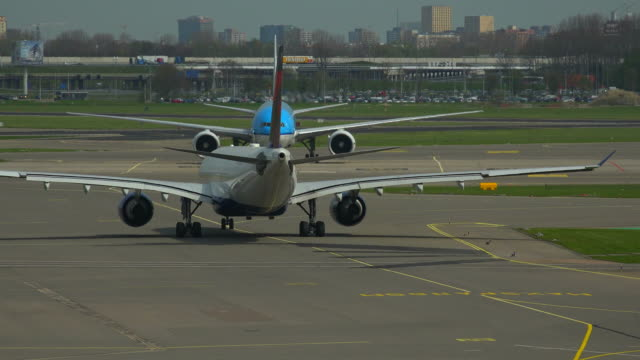 schiphol airport, amsterdam, south holland, netherlands - south holland stock videos and b-roll footage