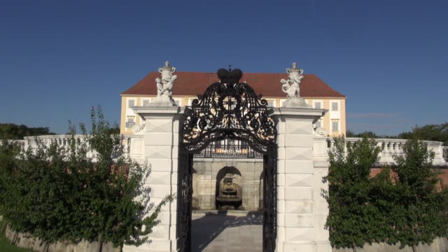 Schloss Hof - Entering the Castle