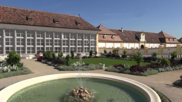 schloss hof - garden and surroundings 02 - traditionally austrian stock videos & royalty-free footage