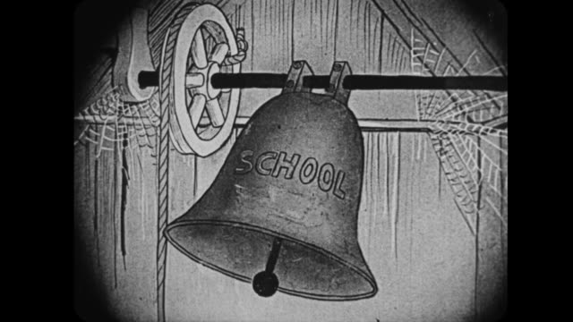 a school bell rings - school bell stock videos and b-roll footage