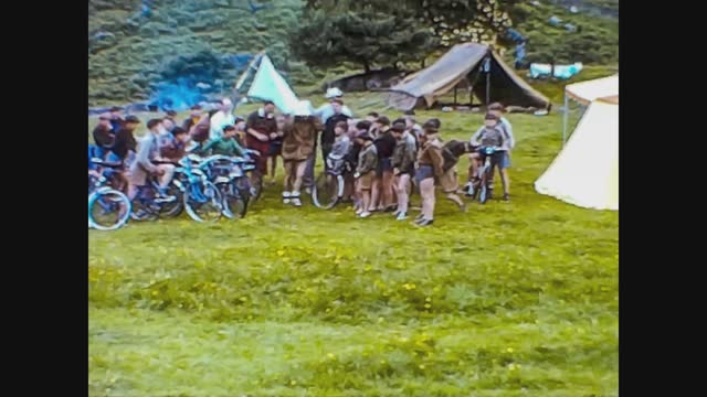 school camp in the countryside - full length stock videos & royalty-free footage
