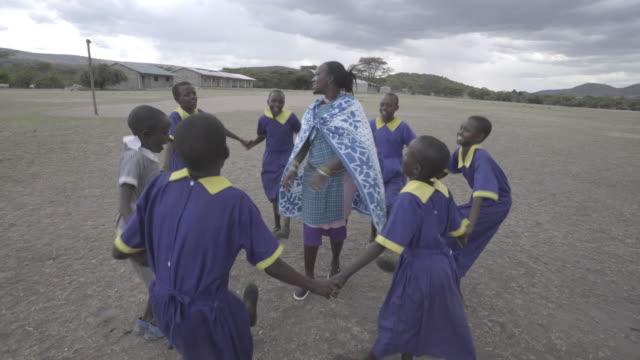 School Children. Kenya. Africa.