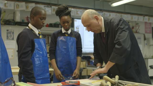 school children practising - instructor stock videos & royalty-free footage