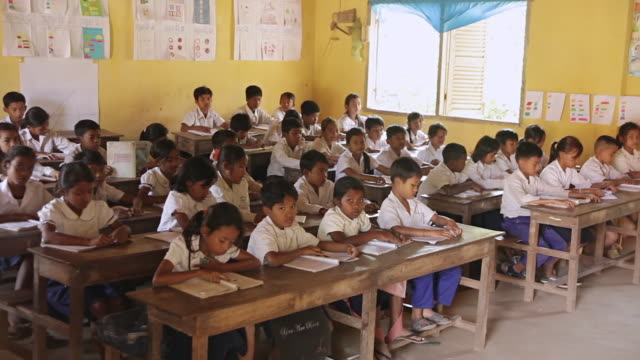 ms school class in countryside / hanoi, vietnam - vietnam stock videos & royalty-free footage