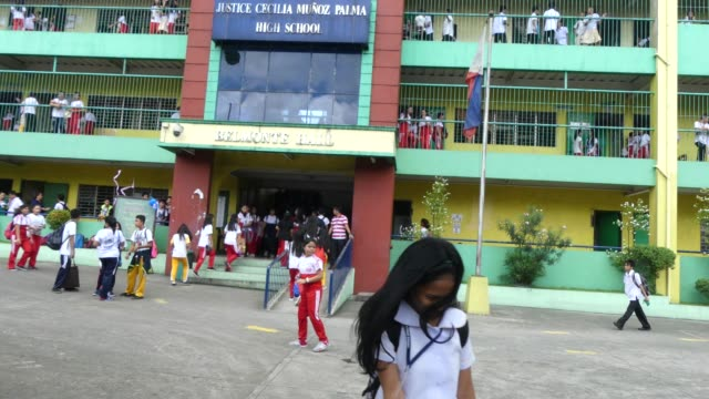 A School in Manila in the Philippines