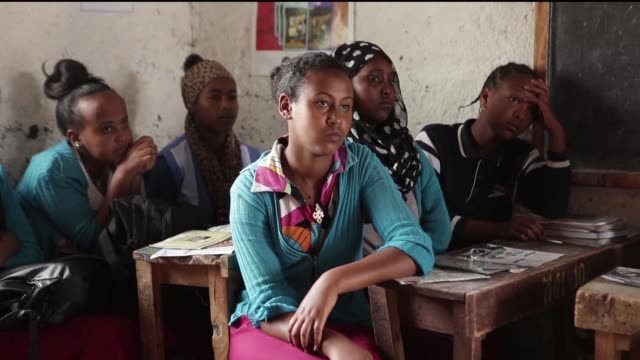A school in rural Ethiopia is working to keep girls in the education system by teaching its children about puberty and menstruation in a country...