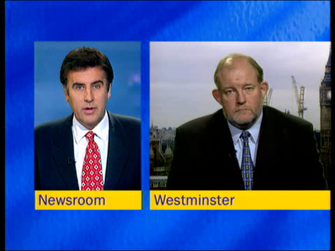 london westminster int charles clarke mp interview sot league tables use four basic measures of performance from types of exams element of added... - dermot murnaghan stock-videos und b-roll-filmmaterial
