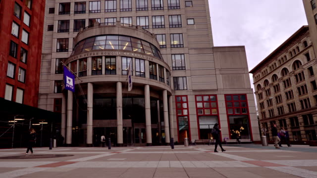 school of business. new york university - new york university stock videos & royalty-free footage