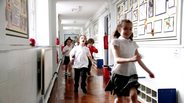 school out! - english culture stock videos & royalty-free footage