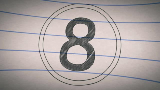 School Sketch Book Top Ten Countdown