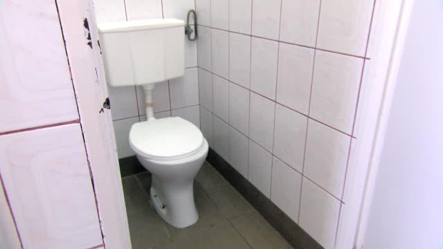 school toilet - vandalism stock videos & royalty-free footage