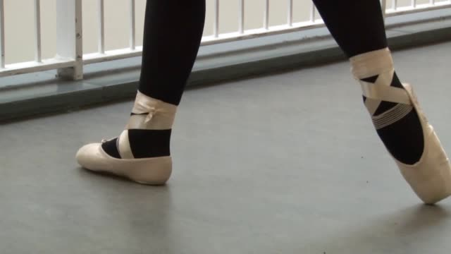 a schoolgirl is pursuing her dream of a ballet career after securing 10 a grades in her exams following fears she would not dance again amy pollock... - scoliosis stock videos and b-roll footage