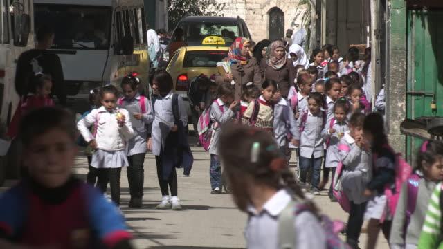 Schoolkids, Balata Refugee Camp, Palestine