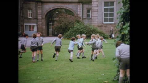 1981 schools of aberdeen, scotland - scottish culture stock videos & royalty-free footage