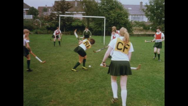 1981 schools of aberdeen, scotland - field hockey stock videos and b-roll footage