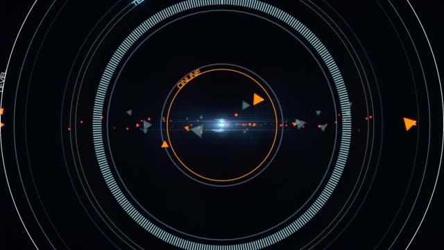 Sci Fi futuristic Head Up Display Background