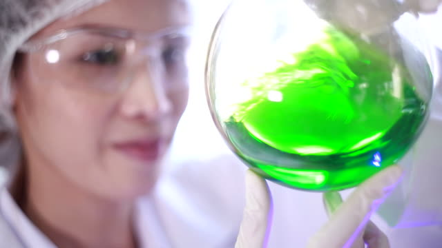 science and research - laboratory flask stock videos & royalty-free footage