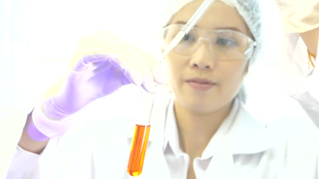 Science and research (slow motion)