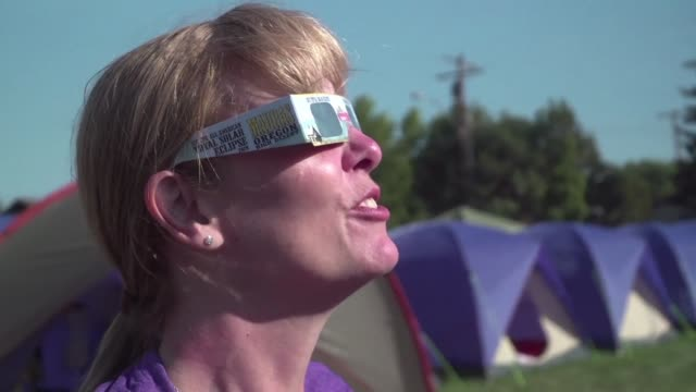 Science professors amateur astronomers and tourists all eagerly await the first total solar eclipse seen in the US in nearly a century which will...