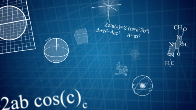 scientific motion background on blueprint - adobe after effects stock videos and b-roll footage