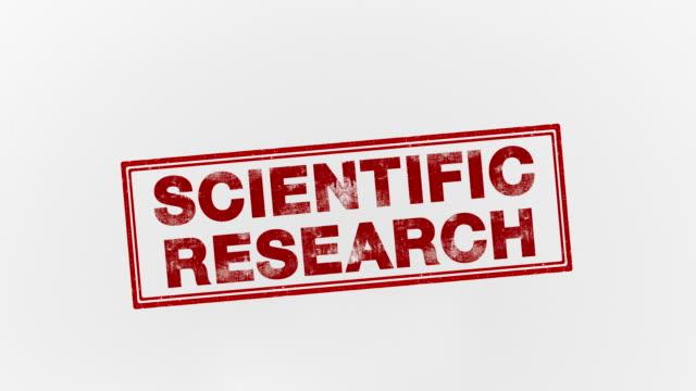 vidéos et rushes de recherche scientifique - bol vide