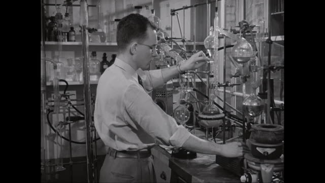 ms scientist doing research in laboratory / united states - chemistry stock videos & royalty-free footage