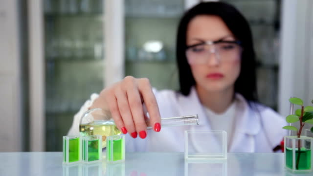 Scientist in the laboratory