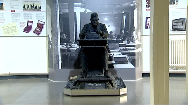 Scientists call for government to grant posthumous pardon to codebreaker Alan Turing ENGLAND Buckinghamshire Bletchley Park INT General views of...