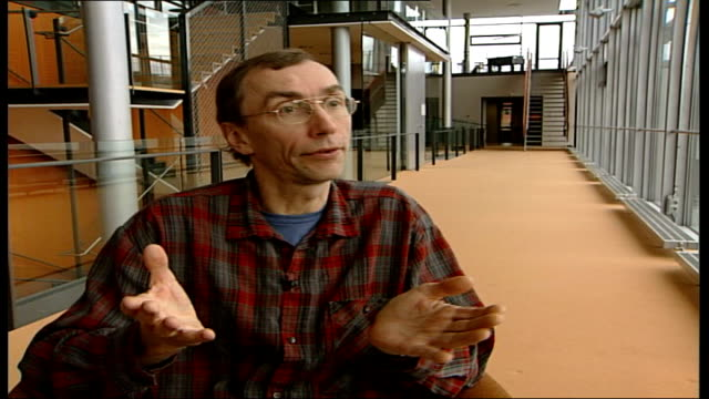 stockvideo's en b-roll-footage met scientists close to mapping genetic code for neanderthal man dr svante paabo interview sot project is to learn what sets us apart as humans from all... - prehistorische mens