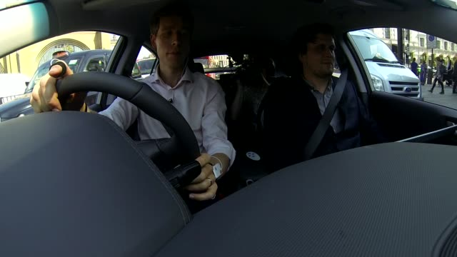 Scientists design 'Driving Emotion Test' to reduce road rage London Reporter having monitor attached to his wrist Reporter having monitor attached to...