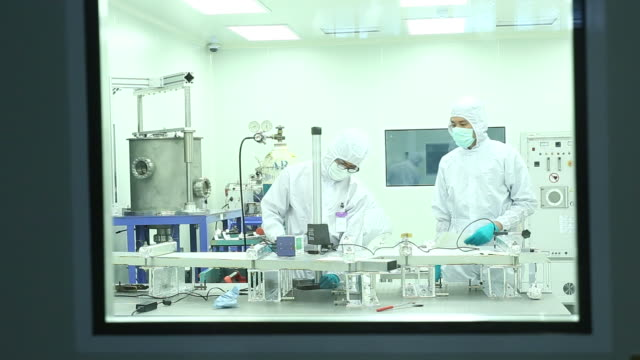 scientists in modern laborator - medical procedure stock videos and b-roll footage