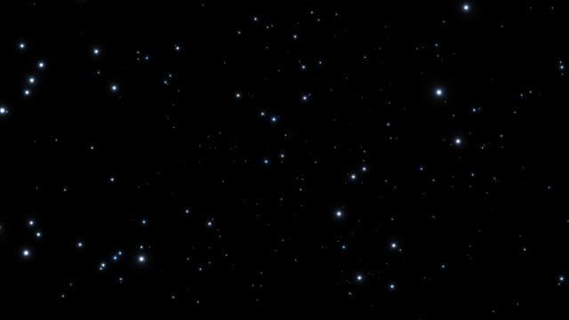Sci-fi-Stars Schrägansicht in Raum